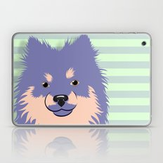 Olie the Pomeranian in Purple Laptop & iPad Skin