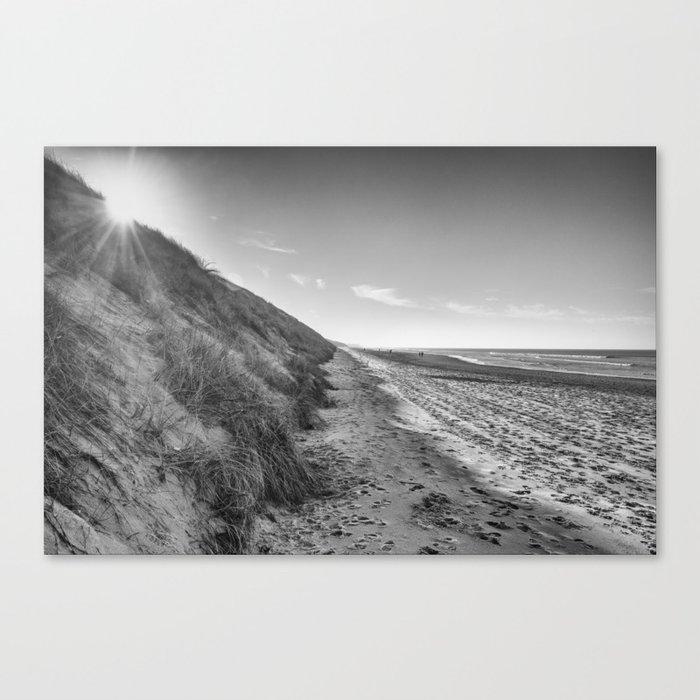 Beach Touquet Canvas Print
