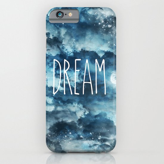 Dream in Blue iPhone & iPod Case