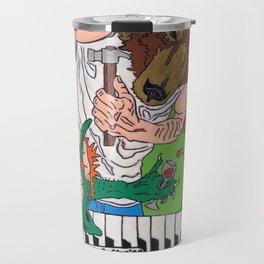 """Spiral Up"" By Jordan Halstead Travel Mug"