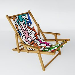 Homage to Keith Haring Acrobats II Sling Chair
