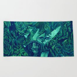 Jackioh Beach Towel
