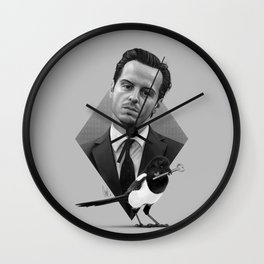 A good old-fashioned villain Wall Clock