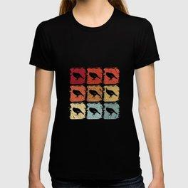 Retro Pop Art Kakapo Bird T-shirt