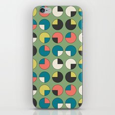 Pie Green iPhone Skin