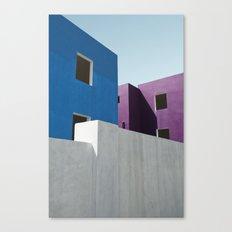 Curacao Minimal II Canvas Print