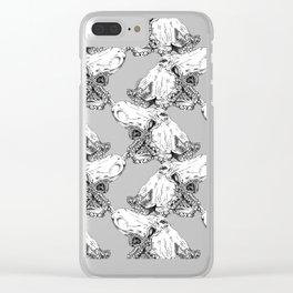 Octopus II Clear iPhone Case