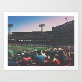 Bostonian Strong Art Print