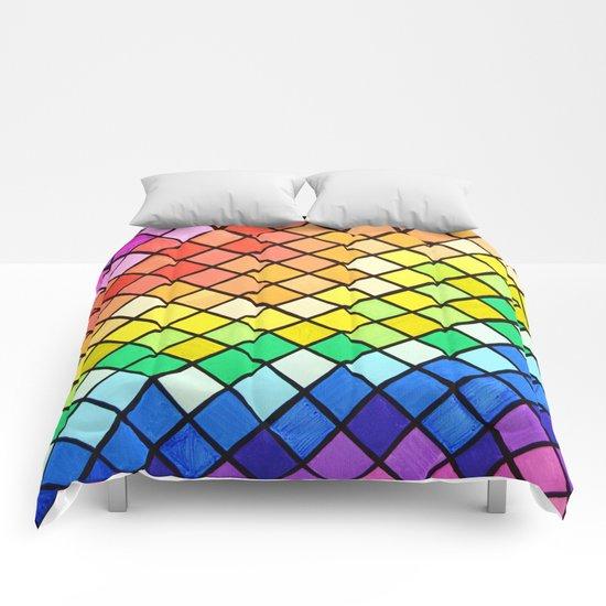 Geo-Pantone Comforters