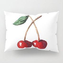 Cherry Red Pillow Sham