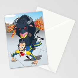 Bullfighter Stationery Cards