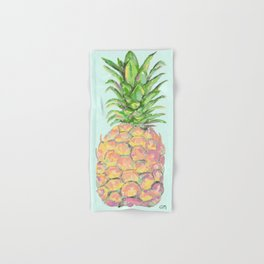 Mint Brite Pineapple Hand & Bath Towel