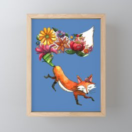 Hunt Flowers Not Foxes Two Framed Mini Art Print