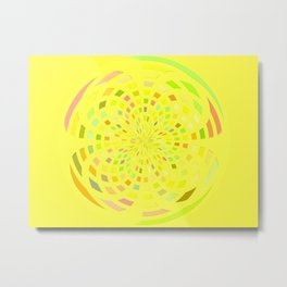 A Sustainable Planet Metal Print