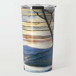 Louis Comfort Tiffany - Decorative stained glass 5. Travel Mug