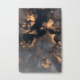 Gold Sunset (Cloud series #1) Metal Print