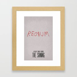 The Shining 02 Framed Art Print