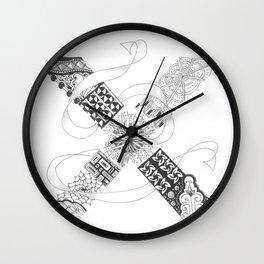 """Zenletter """"X"""" Wall Clock"""