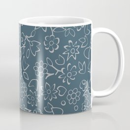 Simple Flowers Pattern 23 Coffee Mug