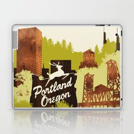 Portland, Oregon Laptop & iPad Skin
