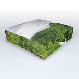 Alaskan Summer Outdoor Floor Cushion