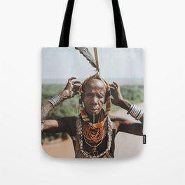 Karo Tribeswoman IV Tote Bag