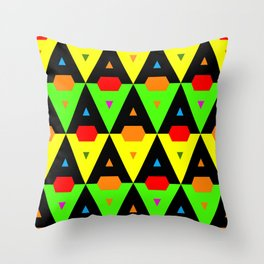 Letter A for Andrea Throw Pillow