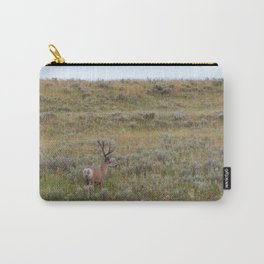 Deer Wildlife Photography, Yellowstone National Park, Nature Landscape, Wyoming Photo Carry-All Pouch