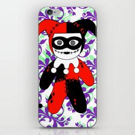 Voodoo Quinn iPhone Skin