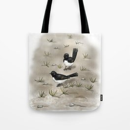 Willie Wagtails Tote Bag