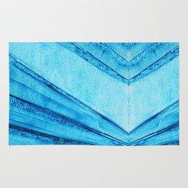 Tormented blue sky 01 Rug