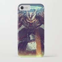titan iPhone & iPod Cases featuring Titan Terrabreaker by Benedick Bana