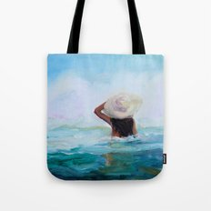 Private Beach Tote Bag