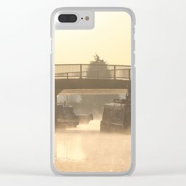 Stillness of Morning Clear iPhone Case