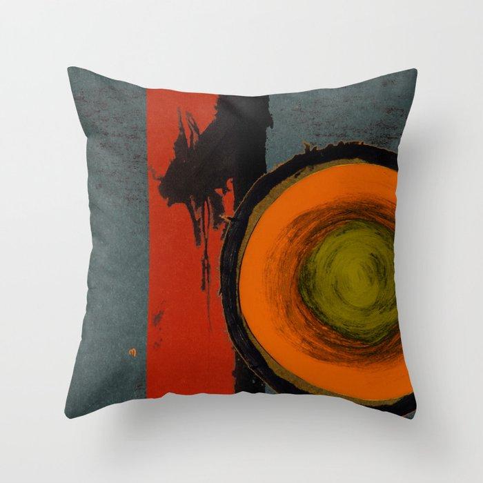 Opal Ten Throw Pillow