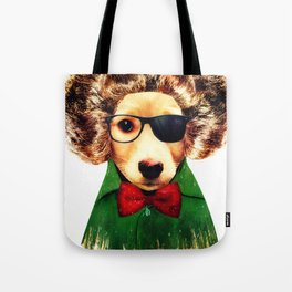 Dog ( Ben) Tote Bag