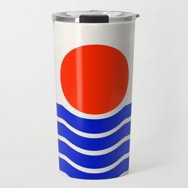 Going down-modern abstract Travel Mug