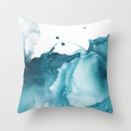 Butterfly in the Wind Throw Pillow