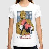 floyd T-shirts featuring Floyd Mayweather by Averagejoeart