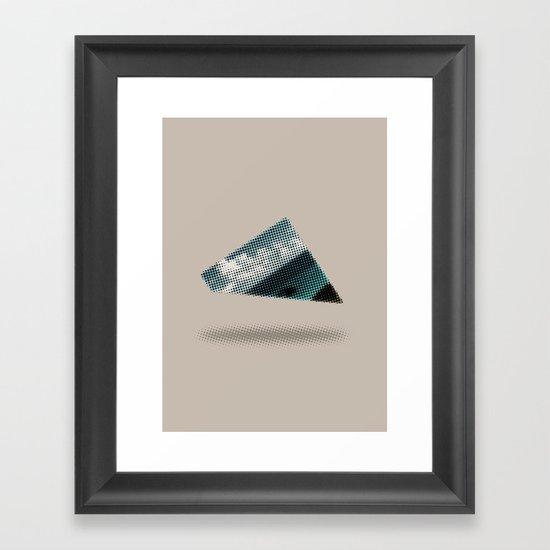 There's something wrong with the Triangle Framed Art Print