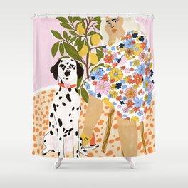Dalmatian Shower Curtains