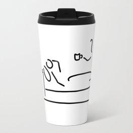 ill bed cold tea Travel Mug