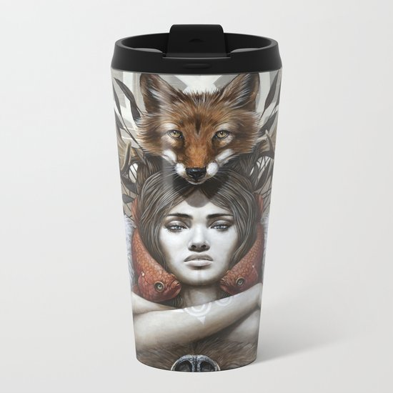 Kwanita Metal Travel Mug