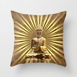 Buddha 2 Throw Pillow