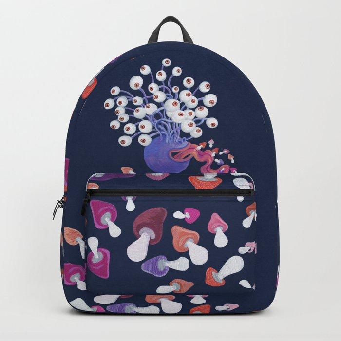 Mushroom Monster Backpack