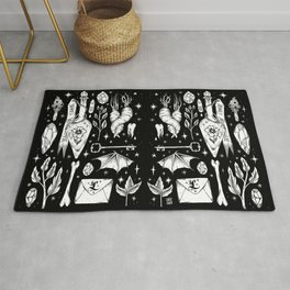 into the WITCH'S GARDEN Rug