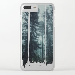 Flirting with temptation Clear iPhone Case