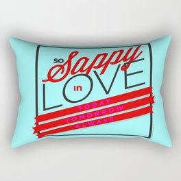 Sappy in Love - RMX Rectangular Pillow