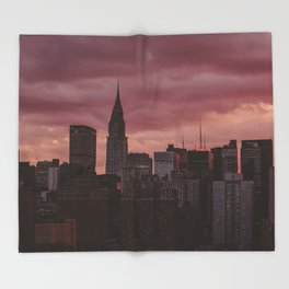 New York 03 Throw Blanket
