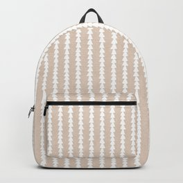 Tiny Triangles in Tan Backpack